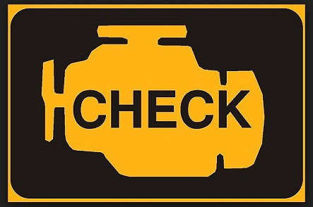 check engine mobil