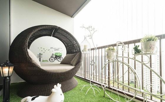 Tips Mempercantik Balkon