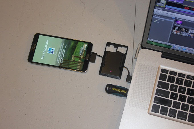 Charge Smartphone di Laptop