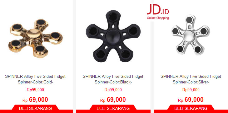fidget spinner jd
