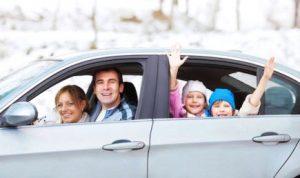 Perjalanan Liburan Keluarga dengan Mobil