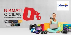 Promo Cicilan Bank 0% di Blanja