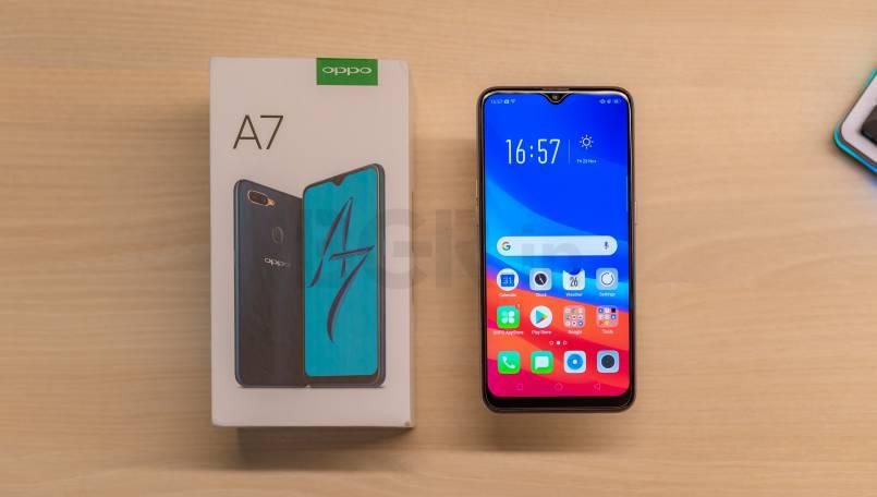 Smartphone Oppo A7