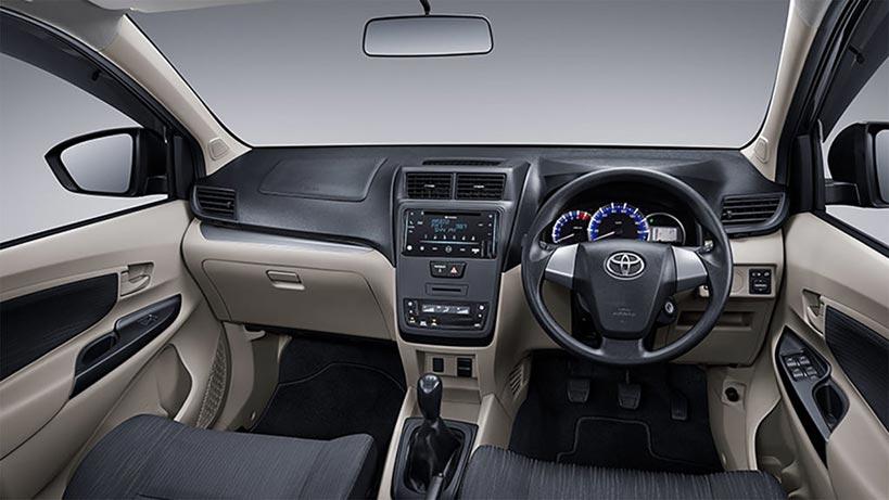 Desain Interior Toyota Avanza Facelift 2019