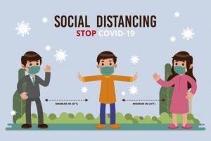Menerapkan Social Distancing