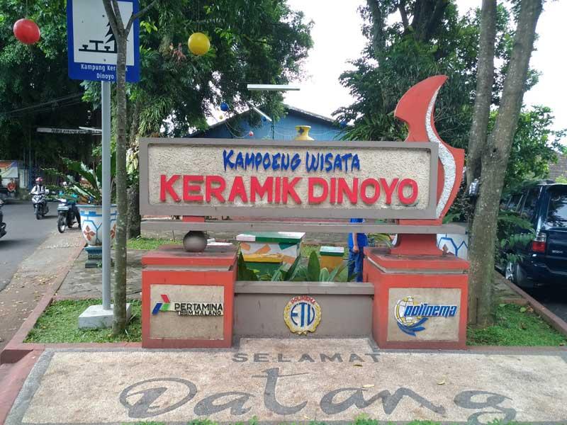 Kampung Wisata Keramik Dinoyo Malang